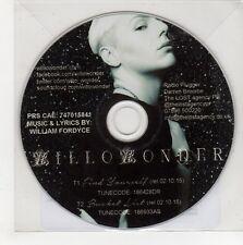 (GN608) Willo Wonder, Find Yourself - 2015 DJ CD