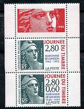 STAMP / TIMBRE FRANCE NEUF N° 2934Aa ** JOURNEE DU TIMBRE MARIANNE / DE CARNET