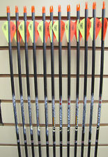Easton Aftermath 400 Arrows - Blazer Vanes- Dozen - Cut to length FREE!