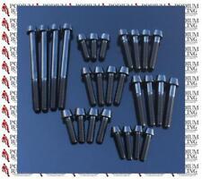 DUCATI TITANIUM 74 PIECE ENGINE CASE BOLT KIT BLACK 848 1098 1098S 1098R