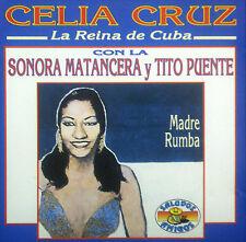 CD celia cruz con Sonora Matancera y tito puente-madre rumba