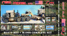 1/35th Real Model US M1070 HET and M1000 trailer big detail set