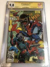 Web of Spider-Man (1993) # 97 (CGC 9.8 SS) | Signed Remark Saviuk | 1st App
