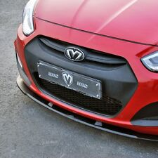 M&S Replacement Bottom Grille for Hyundai Accent 2011+ [Matte Black Finish]