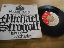 "7"" OST Helmut Zacharias - Michael Strogoff :  Nadjas Theme / Papage (2 Song) EMI"