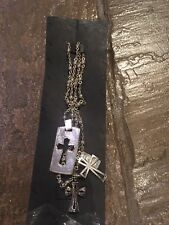 Necklace New With Tags Mng - Silver Coloured