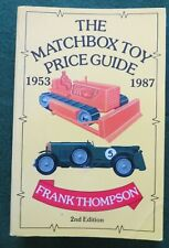 The MATCHBOX TOY Price Guide - Frank Thompson - 2nd Edition