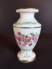 AUGUST POPPY VASE - Flowers of the Victorian Year by Franklin Mint - Miniature