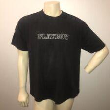 Vintage Play boy Bunny Shirt single stitch 90s Black Short Sleeve Rare