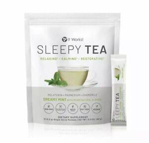 It Works Sleepy Sleep Tea  Relaxing Calming Melatonin Chamomile Magnesium