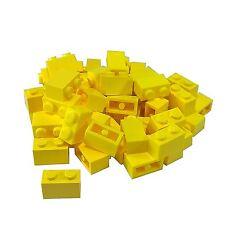 45 NEW LEGO Brick 1 x 2 BRICKS Bright Light Yellow