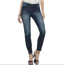 Juicy Couture Bling Flaunt It Stretch SKINNY Jeans Bottom Enhancing Womens 0