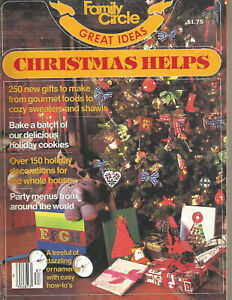 Christmas Helps 1978 Family Circle Great Ideas Vintage Magazine Issue
