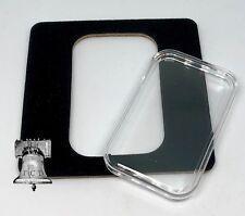 Air-tite Coin Holder Black Velvet Display Card Insert Silver Gold Bar Capsule