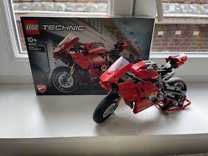 Lego TECHNIC 42107 MOTO DUCATI PANIGALE V4 R BIKE RARE BOITE + NOTICE
