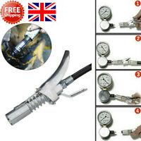 Grease Gun G Coupler Quick Release Lock On Coupling End 1/8NPT Workshop Farm UK