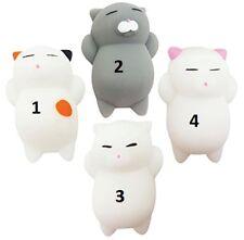 Chat kawaii squishy cat anti stress phone case squishies sqeeze toy jouet pets