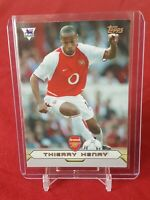 Thierry Henry Arsenal Merlin Gold Card Topps 2004 Trading Card