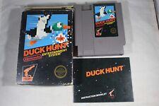 Duck Hunt HANGTAB (Nintendo NES) Complete in Box FAIR