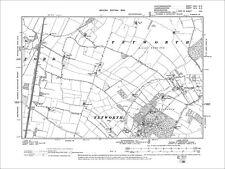 Alconbury Weston 1902: 17NE Old Map Huntingdonshire Alconbury