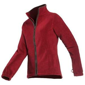 Baleno Ladies Country Fleece Jacket - Red - SALE