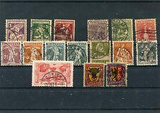 Schweiz o -  1916 - 1918 - KW 315,-- €  ( 13828 )
