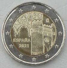 2 Euro Spanien 2021 Altstadt von Toledo unz.