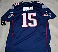 """CHRIS HOGAN NEW ENGLAND PATRIOTS """"NIKE ON FIELD"""" HOME BLUE JERSEY YOUTH XL.$75"""