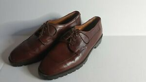 NWT Cole Haan Brown Leather Shoes Men's Made in Italy $198~New