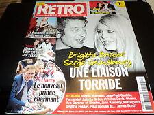 """RETRO N°4"" Brigitte BARDOT & Serge GAINSBOURG, Marilyn MONROE, Mireille MATHIEU"
