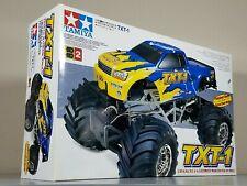 Vintage New Open Box Tamiya 1/10 R/C TXT-1 58280 4x4 Monster Xtreme Truck TXT1