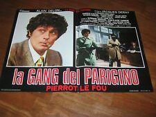 FOTOBUSTA,1977,La gang del parigino Pierrot le Fou ALAIN DELON DERAY