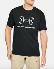 Under Armour * UA Fish Hook Sportstyle Tshirt Black Medium
