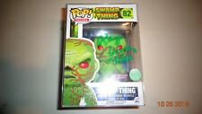 Ray Wise Signed Swamp Thing Funko Pop Vinyl Figure w/ COA PX Scented Exclusive