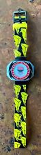 Vintage 1993 Gordy Time Mighty Morphin Power Rangers Red Ranger LCD Watch