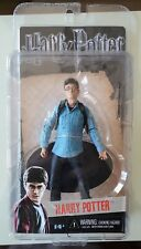 NECA Harry Potter Deathly Hallows HARRY POTTER w/ Wand & Base (New) NM/Mint moc