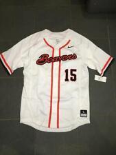 RARE NEW OREGON STATE BEAVERS #15 Baseball Jersey sz LG $110