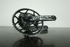 ROTOR 3D CHAINSET QUARQ POWER METER WITH ROTOR CERAMIC BEARINGS + ROTOR RINGS