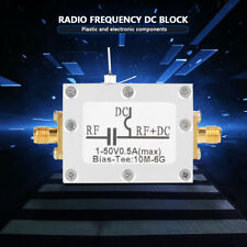RF Biaser Bias Tee Coaxiale large bande Micro-onde Radio Fréquence 10 MHz-6 GHz