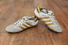 Adidas Adipure II Fg Football Pro Pointure UK 10.5 Blanc et Or 100% CUIR
