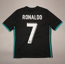 NWOT Ronaldo #7 Real Madrid 2017 2018 Football Soccer Shirt Adidas Youth Size L