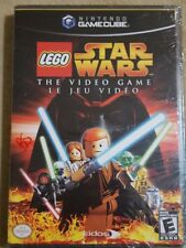 BRAND NEW SEALED LEGO Star Wars: The Video Game  (Nintendo GameCube, 2005)