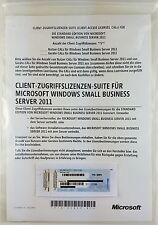Windows 2011 small business server sbs standard 64 bits 1-4cpu incl. 5 Cal