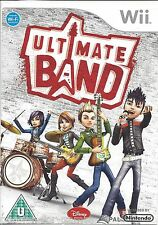 ULTIMATE BAND for Nintendo Wii - with box & manual