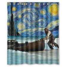 New Custom Pirates of the Caribbean Galaxy Waterproof Shower Curtain 60x72 inch