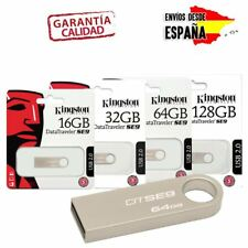 MEMORIA USB FLASH PENDRIVE 2.0 KINGSTON DATATRAVELER 16GB 32GB 64GB 128GB