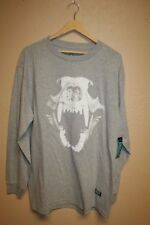 NEW Grizzly Griptape T-SHIRT MENS Large Longsleeve Skateboarding Graphic Tee