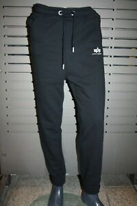Alpha Industries Backprint Jogger 116067/03 Black New Sports with Pressure