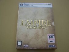 Empire Total War Special Forces Edition ** Nuovo e Sigillato ** PC.