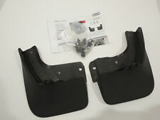 Audi A1 8X 2019> Pair Genuine Rear Mudflaps And Fixings New 82G075101